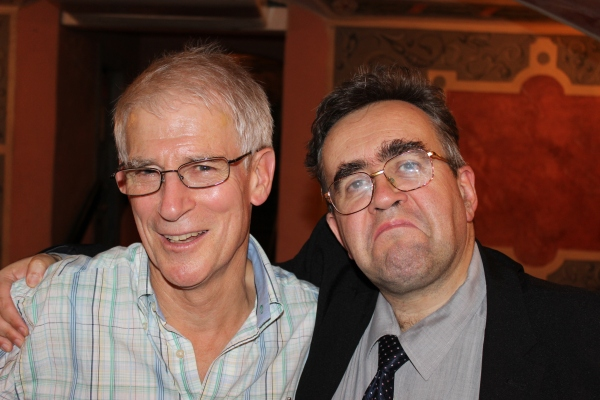 Steve Kaufman meets Viktor Huliganov in Prague