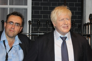 Meeting his Dick (Whittington) ness Mr Boris Johnson, at least, a pasticine avatar of the same.
